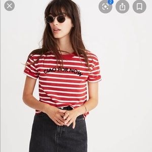 Madewell tee ciao for now